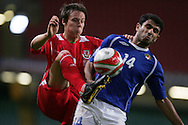 Wales v Azerbaijan, FIFA 2010 World cup qualifier at the Millennium Stadium in Cardiff on 6th Sept 2008