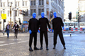 Blue Man Group at Madamme Tussauds
