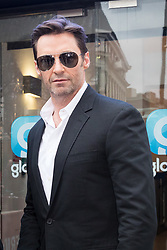 © Licensed to London News Pictures. 05/12/2017. London, UK. HUGH JACKMAN leaves Global Radio Studios in London. Photo credit: Vickie Flores/LNP