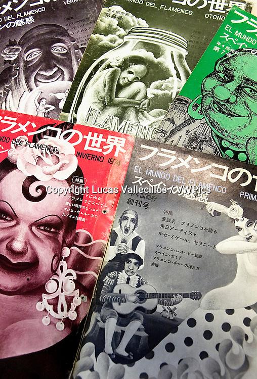 """el mundo del flamenco"" magacine edited by Teruo Kabaya in the decade of 1970.Tokyo, Japan"