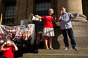 Rally in Oxford for Jeremy Corbyn