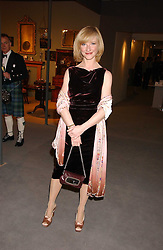JANE HORROCKS at the British Antiques Dealers Association antiques & Fine art fair in aid of the charity Childline held at the Duke of York Square, Chelsea, London on 23rd March 2006.<br /><br />NON EXCLUSIVE - WORLD RIGHTS