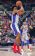 NBA - Indiana Pacers vs Detroit Pistons - Indianapolis, In 121518