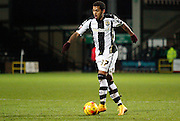 Ryan Hall during the Sky Bet League 1 match between Notts County and Swindon Town at Meadow Lane, Nottingham, England on 13 December 2014.