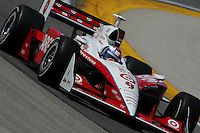Scott Dixon at the Milwaukee Mile, ABC Supply Co./AJ Foyt 225, July 25, 2005