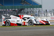 5 LMP1 Toyota Gazoo Racing / Toyota TS050 Hybrid / Anthony Davidson / Sebastian Buemi / Kazuki Nakajima during the FIA World Endurance Championship at Silverstone, Towcester, United Kingdom on 15 April 2016. Photo by Craig McAllister.