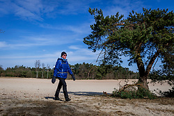 18-03-2018 NED: We hike to change diabetes, Soest<br /> Training voor de Camino 2018 op de Soesterduinen / Cobi