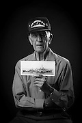 John B. Moniz was an Electrician's Mate 1st Class in the Navy during WWII and served aboard the USS Isherwood DD520 from 1943-1945 both in the Atlantic and Pacific Fleet. He's also a kamikaze survivor.