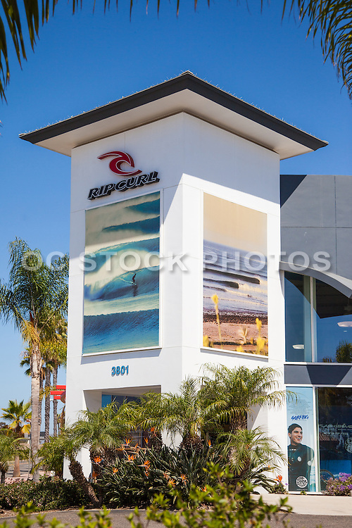 Rip Curl Surf Center in San Clemente