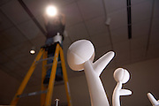 2008 School of Art Faculty Exhibition..Jeff Carr sets lighting for the Exhibition which is in process of being set up..Times: (See Event Description) .Jan 18, 2008. .Approximately 30 Ohio University School of Art faculty members share their recent work with the public in this free exhibit which runs from January 18 through March 16, 2008 at Kennedy Museum of Art in Athens, Ohio. Displays represent many disciplines including printmaking, painting, photography, sculpture, ceramics, graphic design, video installation, and performance art. Gallery hours at the Kennedy Museum of Art are Tuesday, Wednesday, Friday 12 to 5pm; Thursday 12 to 8pm; and Saturday and Sunday 1 to 5pm. Closed Mondays and holidays. As always, admission is free. Visit www.ohio.edu/museum or call (740) 593-1304 for more information about the museum's current and upcoming exhibitions..Campus: Athens .Location: Kennedy Museum of Art .Contact: kennedymuseum@ohio.edu .Website: http://www.ohio.edu/museum