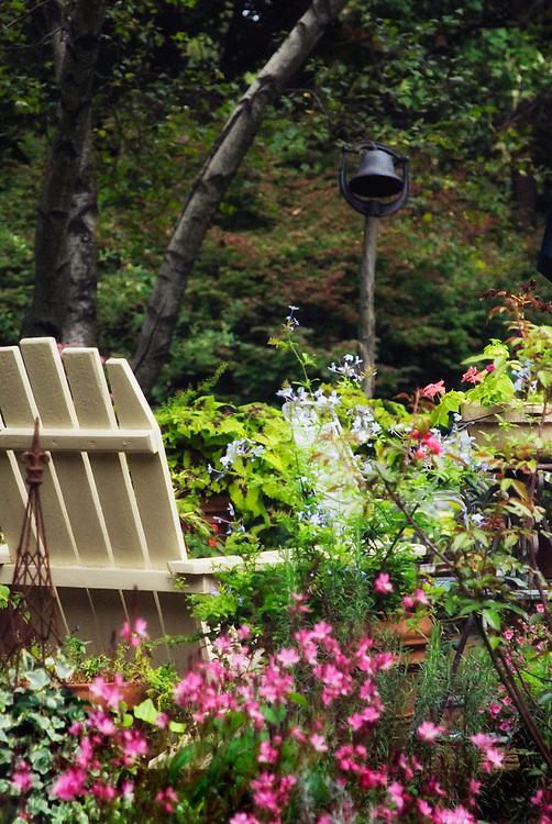Patio garden.