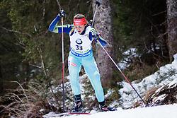 Iryna Varvynets (UKR) competes during Women 10 km Pursuit at day 3 of IBU Biathlon World Cup 2015/16 Pokljuka, on December 19, 2015 in Rudno polje, Pokljuka, Slovenia. Photo by Ziga Zupan / Sportida