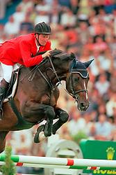 Lansink Jos, BEL, Caridor Z<br /> CHIO Aachen 2001<br /> © Hippo Foto - Dirk Caremans<br /> 15/06/2001
