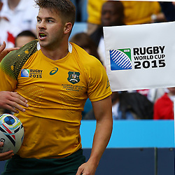 BIRMINGHAM, ENGLAND - SEPTEMBER 27:  during the Rugby World Cup 2015 Pool A match between Australia and Uruguay at Villa Park on September 27, 2015 in Birmingham, England. (Photo by Steve Haag/Gallo Images)