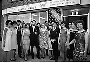 19/07/1967<br /> 07/19/1967<br /> 19 July 1967<br /> Opening of Intercontinental Travel Ltd. at Crumlin Cross, Dublin. The company, an associate company of the Loftus group of Companies was the first Irish Travel Agency to be opened in the outer  suburbs of Dublin. Photo shows shows members of staff at the company.