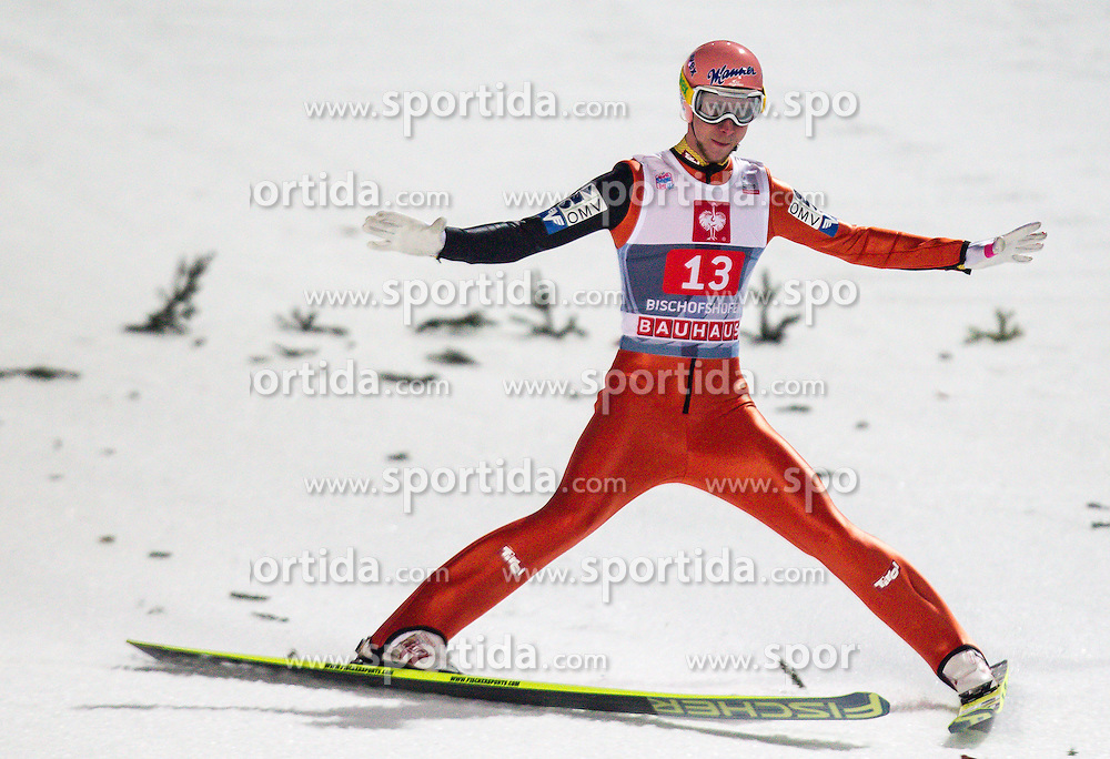 06.01.2013, Paul Ausserleitner Schanze, Bischofshofen, AUT, FIS Ski Sprung Weltcup, 61. Vierschanzentournee, Bewerb, im Bild Martin Koch (AUT) // Martin Koch of Austria during Competition of 61th Four Hills Tournament of FIS Ski Jumping World Cup at the Paul Ausserleitner Schanze, Bischofshofen, Austria on 2013/01/06. EXPA Pictures © 2012, PhotoCredit: EXPA/ Juergen Feichter