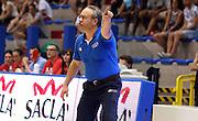 LIGNANO SABBIADORO, 08 LUGLIO 2015<br /> BASKET, EUROPEO MASCHILE UNDER 20<br /> ITALIA-BOSNIA ERZEGOVINA<br /> NELLA FOTO: Stefano Sacripanti<br /> FOTO FIBA EUROPE/CASTORIA