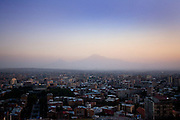 Yerevan with Mount Ararat in the background.  Yerevan, Armenia..Image © Arsineh Houspian/Falcon Photo Agency.