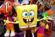 SpongeBob SquarePants balloon street concession stand. Grand Old Day Street Fair St Paul Minnesota USA