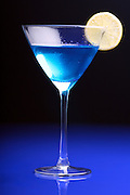 Close up of martini glass
