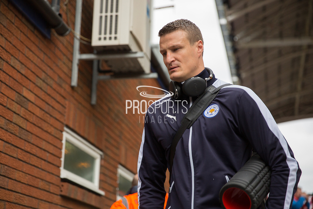 Leicester City Leicester City defender Robert Huth (6) arriving before the Barclays Premier League match between Crystal Palace and Leicester City at Selhurst Park, London, England on 19 March 2016. Photo by Phil Duncan.