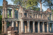 Preah Khan building in Angkor (Cambodia)