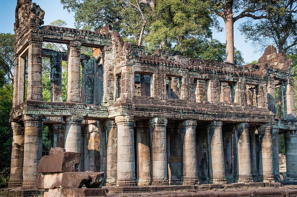 Preah Khan building in Angkor (Cambodia)