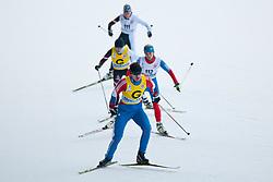 LYSOVA Mikhalina Guide: IVANOV Alexey, RUS, REMIZOVA Elena Guide: YAKIMOVA Natalia at the 2014 IPC Nordic Skiing World Cup Finals - Sprint