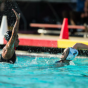 16 March 2017: #12 San Diego State Waterpolo hosts #5 UC Irvine Thursday afternoon and lost 9-7.<br /> www.sdsuaztecphotos.com