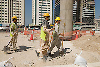Immigrant workers constitute nearly 90% of the population. Dubai, one of the seven emirates and the most populous of the United Arab Emirates sits on the southern coast of the Persian gulf.