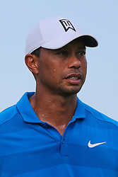 September 22, 2018 - Atlanta, Georgia, United States - Tiger Woods walks off the 16th green during the third round of the 2018 TOUR Championship. (Credit Image: © Debby Wong/ZUMA Wire)