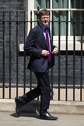 London, June 20th 2017. Secretary of State for Business, Energy and Industrial Strategy Greg Clark leaves the weekly cabinet meeting at 10 Downing Street in London.