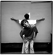 Ian Brown and John Squire, YMCA, London 1989