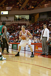 03 December 2005: Mark Kruse. The Illinois State Redbirds shot a stunning 61% in the 2nd half as the University of Wisconsin Phoenix fell to the hosts  59-51during the late afternoon game at Redbird Arena in Normal IL