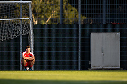 30.08.2016, Ernst Happel Stadion, Wien, AUT, FIFA WM Qualifikation, Georgien vs Oesterreich, Gruppe D, Training Oesterreich, im Bild Marcel Sabitzer // during a training session of Team Austria (AUT) in front of the FIFA World Cup Qualifier Match between Georgia and Austria at the Ernst Happel Stadion, Vienna, Austria on 2016/08/30. EXPA Pictures © 2016, PhotoCredit: EXPA/ Sebastian Pucher