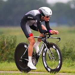 Sportfoto archief 2012<br /> Nederlands Kampioenschap tijdrijden vrouwen Emmen<br /> Ellen van Dijk Nederlands Kampioen tijdrijden