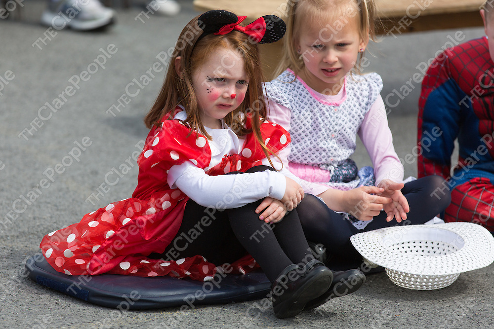Junior Infant Laoise Cunningham dressed as Minnie Mouse