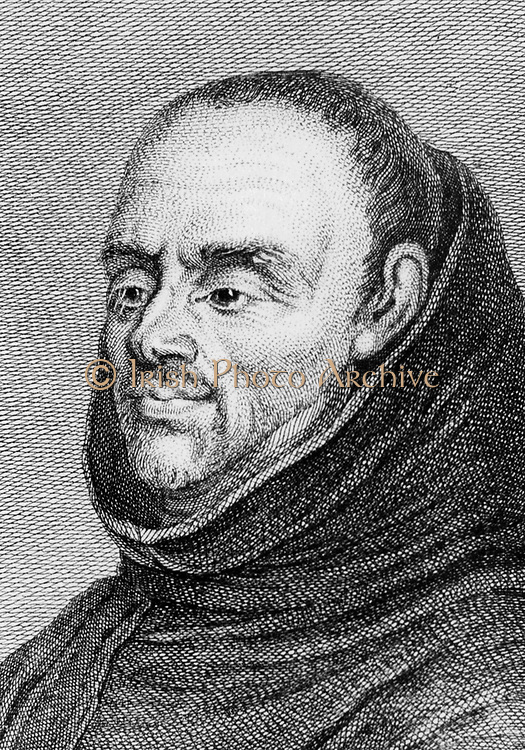 Charles Plumier (1646-1704) French friar, botanist and botanical explorer, was born at Marseilles.  Appointed royal botanist by Louis XIV in 1693. Made expeditions to the West Indies and Central America. Gave the first accurate account of the source of the red dye cochineal which is an insect, not the plant on which it is found. Linnaeus named the genus Plumeria after him. From 'Histoire des Philosophes Modernes' by Alexandre Saverien. (Paris, 1762).