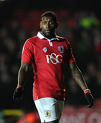 Bristol City's Jay Emmanuel-Thomas  - Photo mandatory by-line: Joe Meredith/JMP - Mobile: 07966 386802 - 10/02/2015 - SPORT - Football - Bristol - Ashton Gate - Bristol City v Port Vale - Sky Bet League One