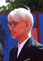 at the premiere of the film Ryuichi Sakamoto: Coda at the 74th Venice Film Festival, Sala Grande on Sunday 3 September 2017, Venice Lido, Italy.
