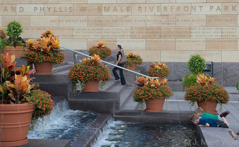 Smale Riverfront Park Cincinnati Ohio