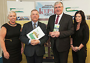 Norina Coppinger, Teagasc,  Prof Gerry Boyle Director Teagasc , Minister Tom Hayes, Loreto Ferguson,Teagasc at the launch of Sheep2015 to be held on Saturday the 20th of June 2015 at the Mellows Campus in Athenry Co. Galway.<br />  Photo by Andrews Downes XPOSURE