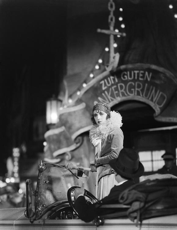 Jenny Jugo, actress on a set at UFA Studios, 1928