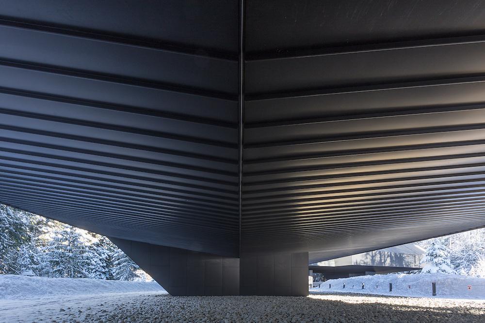 Audain Museum of Art, Whistler, British Columbia | Winter | Patkau Architects | 2017