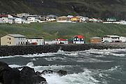 Iceland, snaefellsnes peninsula peaceful fishing village