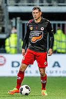 ROTTERDAM - Excelsior - Willem II , Voetbal , Eredivisie , Seizoen 2016/2017 , Stadion Woudestein , 25-02-2017 ,  eindstand 0-2 , Excelsior speler Luigi Bruins