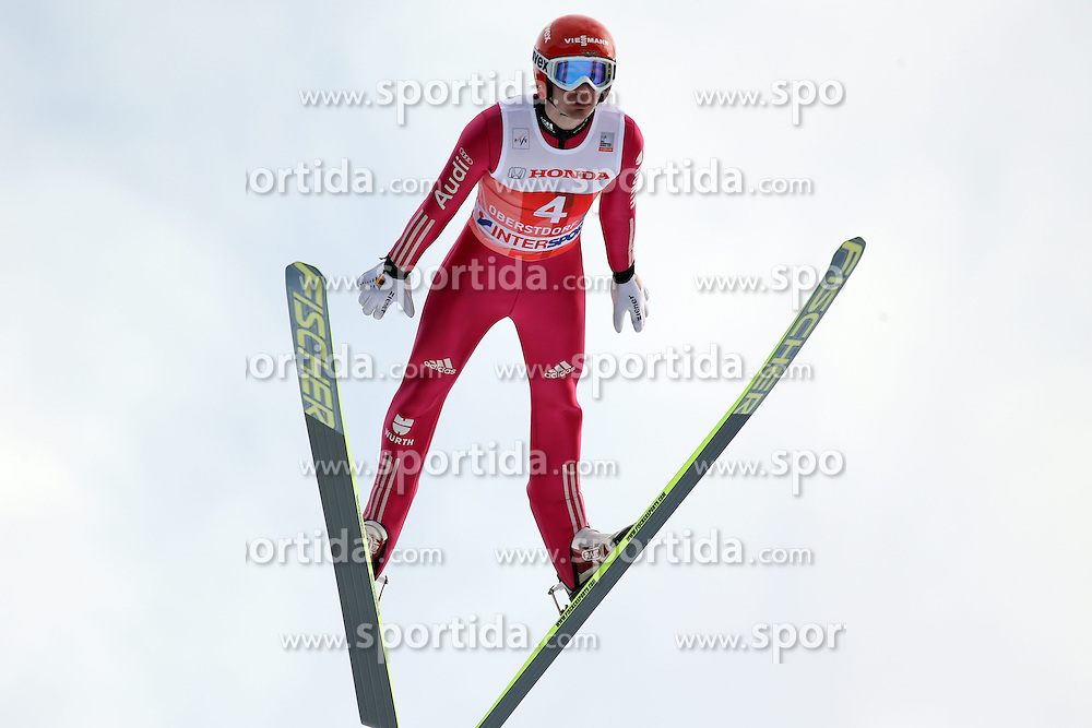 28.12.2013, Schattenbergschanze, Oberstdorf, GER, FIS Ski Sprung Weltcup, 62. Vierschanzentournee, Garmisch Partenkirchen, Bewerb, im Bild Danny Queck // Danny Queck during Competition of 62th Four Hills Tournament of FIS Ski Jumping World Cup at the at the Schattenbergschanze in Oberstdorf, Germany on 2013/12/28. EXPA Pictures &copy; 2014, PhotoCredit: EXPA/ Sammy Minkoff<br /> <br /> *****ATTENTION - OUT of GER*****