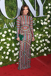 June 11, 2017 - New York, NY, USA - June 11, 2017  New York City..Thalia attending the 71st Annual Tony Awards arrivals on June 11, 2017 in New York City. (Credit Image: © Kristin Callahan/Ace Pictures via ZUMA Press)