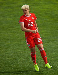 MARBELLA, SPAIN - Tuesday, March 5, 2019: Wales' Grace Horrell during an international friendly match between Wales and Republic of Ireland at the Estadio Municipal de Marbella. (Pic by David Rawcliffe/Propaganda)