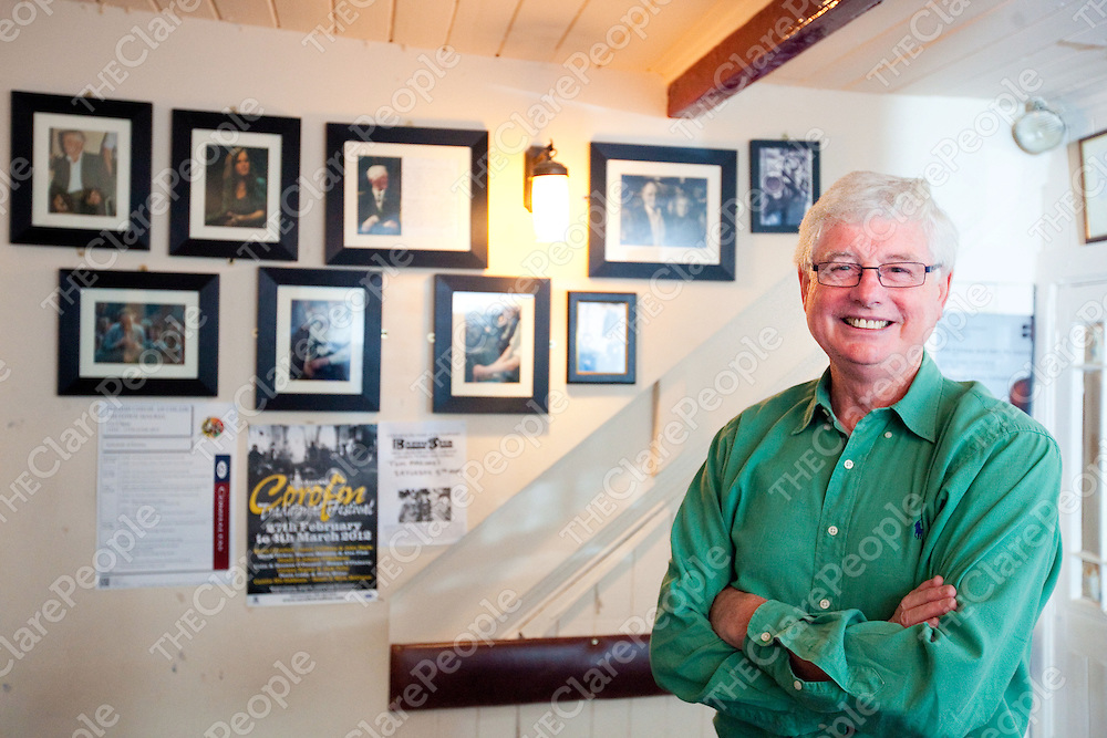 Terry Wilson of Clare Flesdh pictured in Lynchs bar in Miltown Malbay Co Clare<br /> Pictured Credit  Press 22